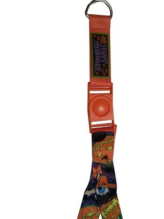 Disney Pin Lanyard - Halloween - Mickey Mouse and Friends