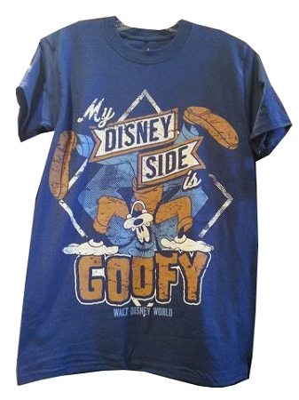 Disney Shirt for Adults - My Disney Side - Goofy