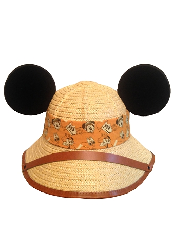 c1a8d90abe2f7 Add to My Lists. Disney Hat - Ears Hat - Safari Mickey Mouse and Friends -  Wicker