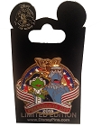 Disney Presidents Day Pin - 2015 Kermit the Frog and Sam the Eagle