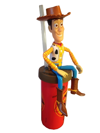 Disney Articulated Cup with Straw - Woody - Toy Story
