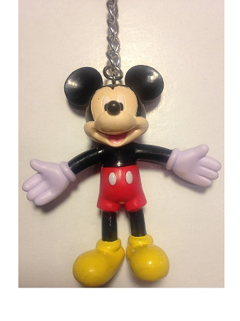 Disney Keychain - Bendable Classic Mickey Mouse