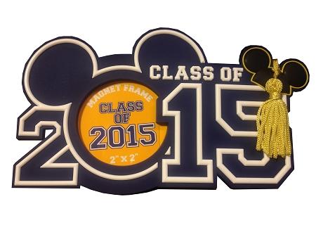 Disney Photo Frame Magnet 2015 Graduation Class Of 2015