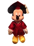 Disney Plush - Graduation -  Mickey Mouse - Class of 2015