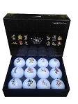 Disney Golf Ball Set - Nike Golf - Mickey Mouse and Friends - Set of 12