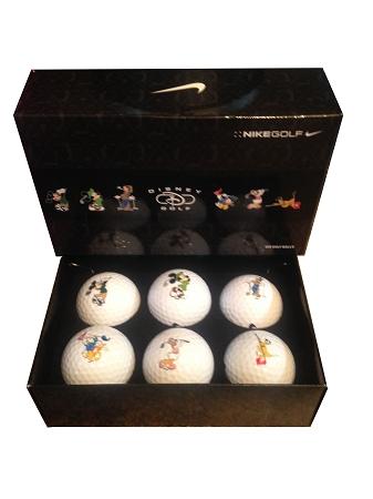 Disney Golf Ball Set Nike Golf Mickey Mouse And