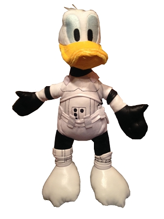 Disney Plush - Star Wars Weekends 2015 - Stormtrooper Donald - 12