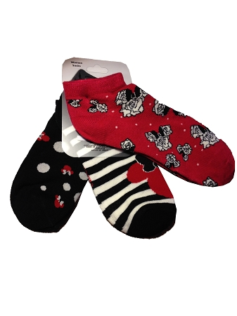 Disney Socks for Women - Minnie Mouse - Walt Disney World - 3 Pack