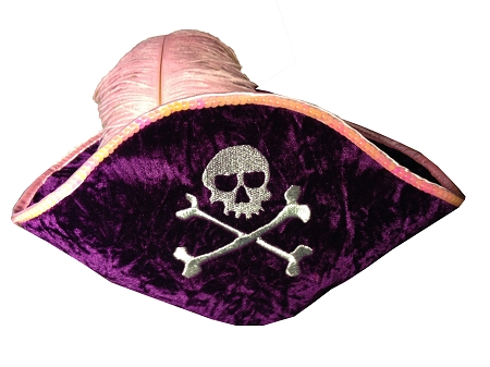 Disney Hat - Plush Hat - Pirates of the Caribbean - Pirate