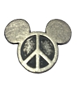 Disney Pocket Token Coin - Piece of Magic - Peace Love Mickey