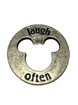 Disney Pocket Token Coin - Piece of Magic - Laugh Often