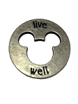 Disney Pocket Token Coin - Piece of Magic - Live Well