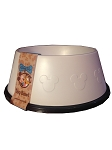 Disney Tails Dog Bowl - Mickey Mouse Icons - White