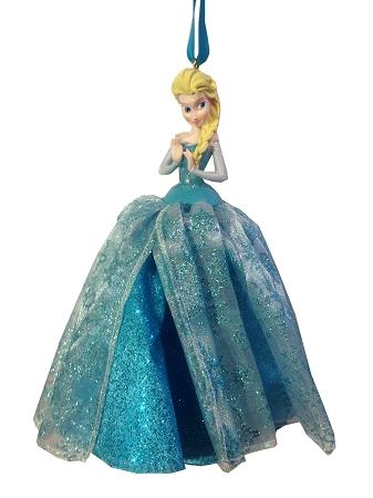 - Disney Christmas Ornament - Queen Elsa - Tulle Gown