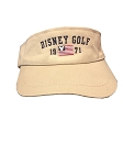 Disney Sun Visor Hat - Disney Golf 1971