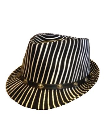 61198ba12a20e Add to My Lists. Disney Hat - Fedora Hat - Jack Skellington - Striped