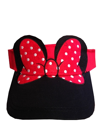 Add to My Lists. Disney Sun Visor Hat - Minnie Mouse ... 79edeaf6f70