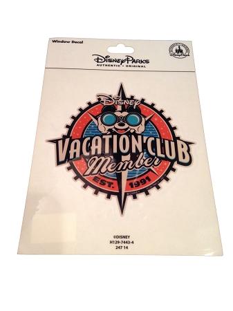 7b07c688cb2 Disney Auto Window Decal - Disney Vacation Club Member