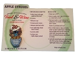 Disney Food and Wine Festival Pin - 2015 Chef Stitch with Recipe