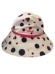Disney Sun Hat for Women - Minnie Mouse Polka Dots - Pink Band