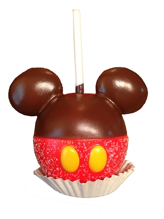 Disney Magnet Mickey Mouse Caramel Apple Large Magnet 30