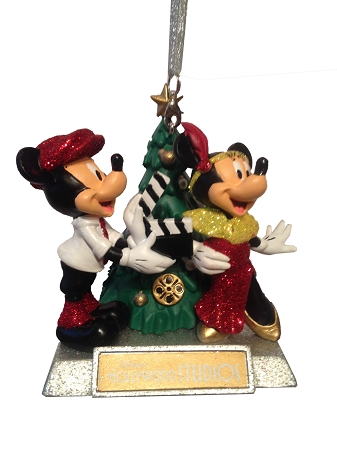 Add to My Lists. Disney Christmas Ornament - Hollywood Studios - Mickey & Minnie Mouse