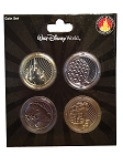 Disney Collectors Coin Set - Walt Disney World - Four Parks