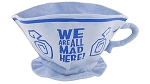 Disney Novelty Hat - Mad Tea Party Tea Cup - We are all Mad Here