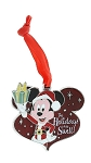 Disney Christmas Pin - Santa Mickey - The Holidays are Swell
