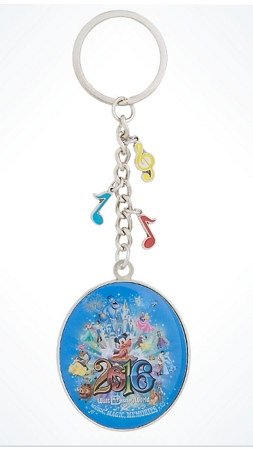 Disney Keychain - 2016 Sorcerer Mickey Mouse - Metal
