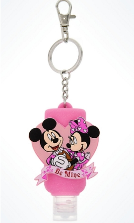 Disney Keychain Hand Sanitizer Valentine S Day Mickey Minnie