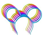 Disney Glow Headband - Mickey Ears - Assorted Colors
