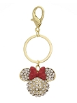 Disney Keychain - Minnie Mouse Icon Crystal - Gold