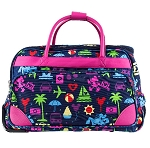 Disney Rolling Duffle Bag - TAG - Character Colorburst