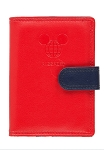 Disney Passport Wallet - TAG - Mickey Mouse - Red