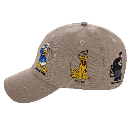 dab4dc6f3444c Disney Hat - Baseball Cap - Mickey Mouse and Friends - Tan. Hover to zoom