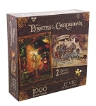 Disney Jigsaw Puzzle - Pirates of the Caribbean - Two Sided