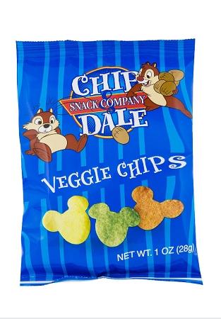 Disney Chip Dale Snack Co Mickey Veggie Chips
