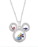 Disney Necklace - 2016 Sorcerer Mickey Icons Floating Charms