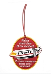 Disney Luggage Bag Tag - Monorail - Stand Clear of my Vacation