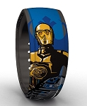 Disney Magic Band - Star Wars - C-3PO and R2-D2