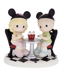 Disney Precious Moments Figurine - Boy and Girl Ice Cream