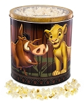 Disney Main Street Popcorn Tin - The Lion King - Kettle Corn