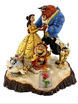 Disney Jim Shore Figurine - Beauty and the Beast - Tale as Old as Time