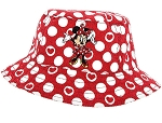 Disney Toddler Bucket Hat - Minnie Dots and Hearts