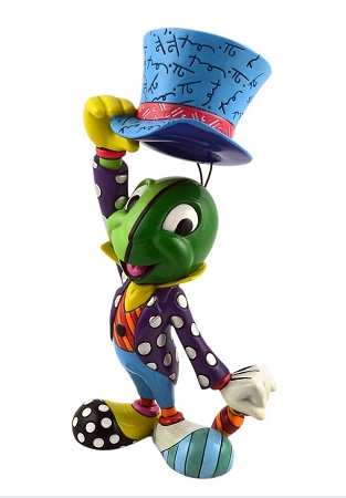 Disney Britto Figurine - Jiminy Cricket with Hat
