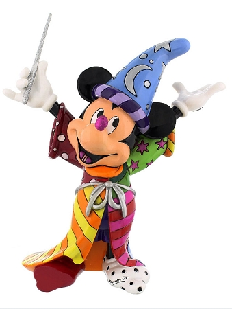 Disney Britto Figurine - Sorcerer Mickey Mouse