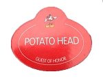 Disney Mr Potato Head Parts - Mickey Potato Head Name Badge