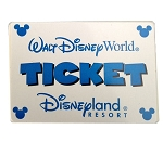 Disney Mr Potato Head Parts - Walt Disney World Admission Ticket