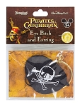 Disney Pretend Play - Pirate Eye Patch with Earring